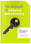 cover of Both ENDS publication The strength of lobbying and advocacy